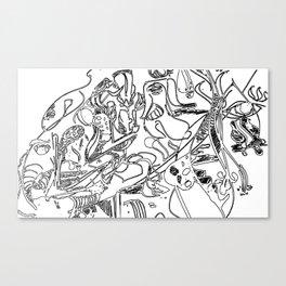 vecteur Canvas Print