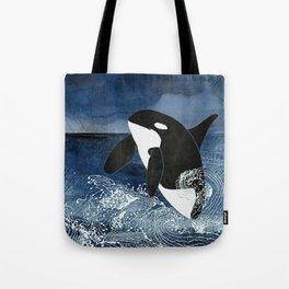 Killer Whale Orca Tote Bag