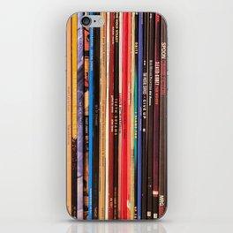 Indie Rock Vinyl Records iPhone Skin