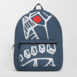 Jesus Christ feet Backpack