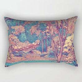 Birth of a Season Rectangular Pillow