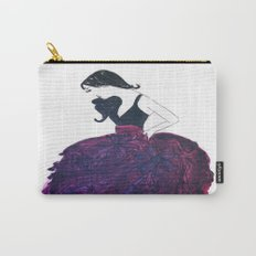 Lady In Purple Watercolor  Carry-All Pouch
