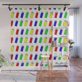 Lighters: The Most Stolen Object on the Planet Wall Mural