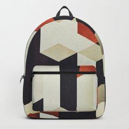 915 // Fallen Heights // Geometric Pattern Backpack
