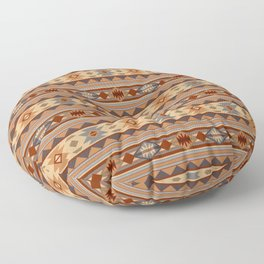 Southwest Design Tan Floor Pillow