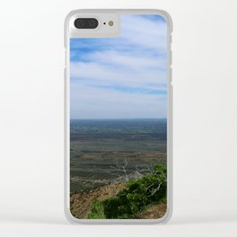 Till the End of My Days Clear iPhone Case