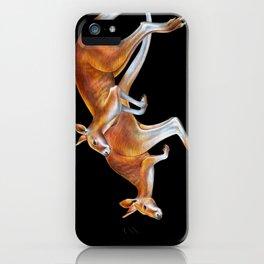 Kangaroos iPhone Case