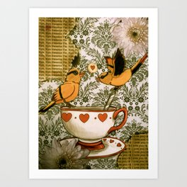 sweet parting Art Print
