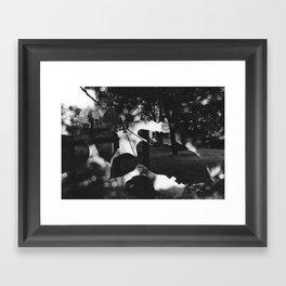 Suburb Framed Art Print