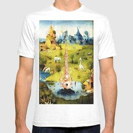 Bosch Garden Of Earthly Delights Panel 1 - Eden T-shirt