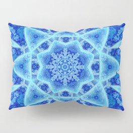 Ice Matrix Mandala Pillow Sham