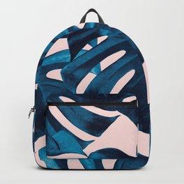 Tropical Monstera Leaves Dream #9 #tropical #decor #art #society6 Backpack