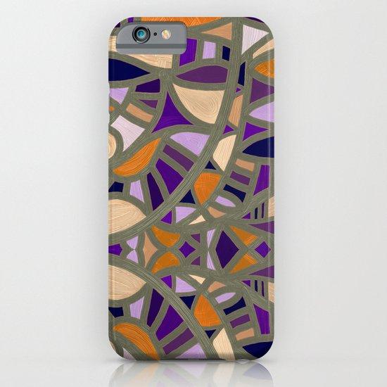 Gaudy Gaudi orange & purple iPhone & iPod Case