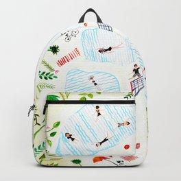 Beach Bee Backpack