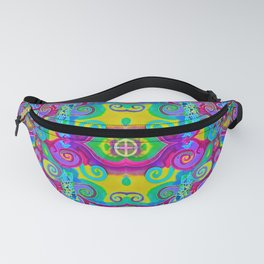 Klimt Tree of Life Mandala Fanny Pack