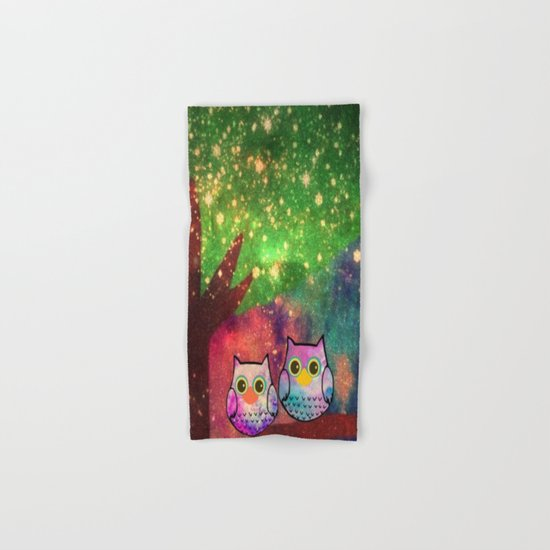 owl-143 Hand & Bath Towel