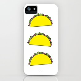 omg tacos! iPhone Case
