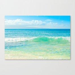 Ocean Blue Beach Dreams Canvas Print