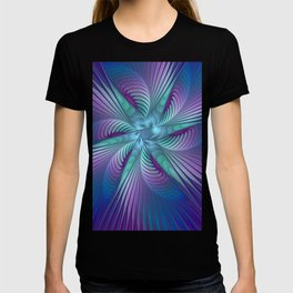 Colorful Grace, Abstract Fractal Art T-shirt
