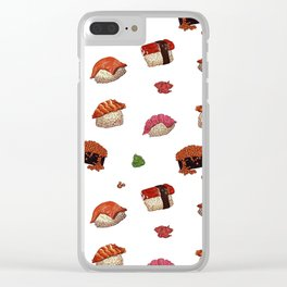 Sushi Galore Clear iPhone Case
