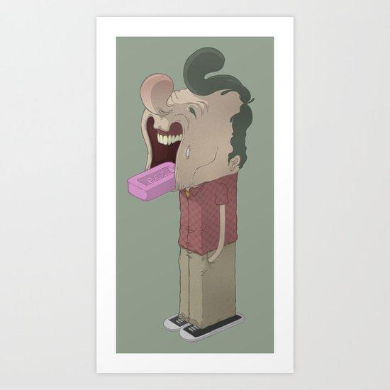 The Dispenser Art Print