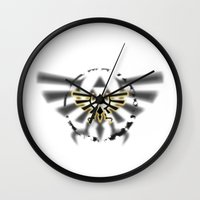 triforce Wall Clocks featuring Triforce by Otis Zanzibar