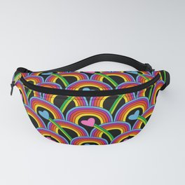 Hearts and Rainbows Fanny Pack
