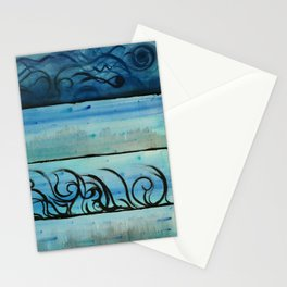 Four Waters Come to Life Stationery Cards