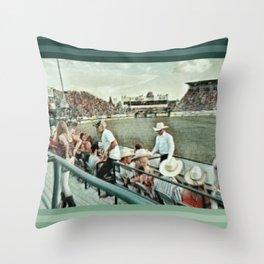 Rodeo Hitchin' Throw Pillow