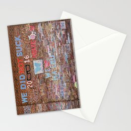 We did not suck | Noriko Aizawa Buckles Stationery Cards