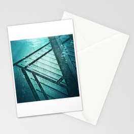 Paving Slabs and Railings. Stationery Cards