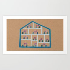 Hot House Art Print