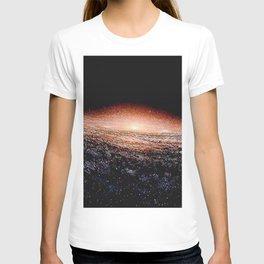 Milky Way Deep Space Telescopic Photograph T-shirt