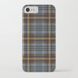 Faded Johnstone Scottish Tartan iPhone Case