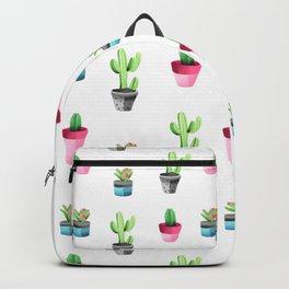 Watercolorcactus pattern Backpack