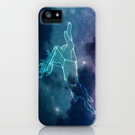 lepus the hare iPhone Case