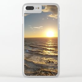 Southern California Sunset Clear iPhone Case
