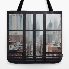 New York City Window Tote Bag