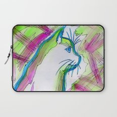 Cat of Color Laptop Sleeve