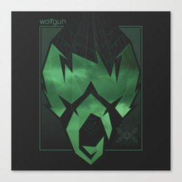 Wolfgun - Projections Canvas Print