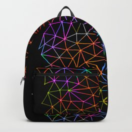 Geometric Glow Backpack