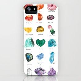 Rainbow Chart iPhone Case