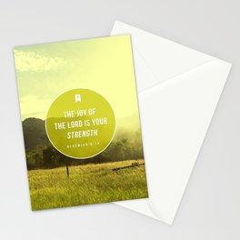 Nehemiah 8:10 Stationery Cards