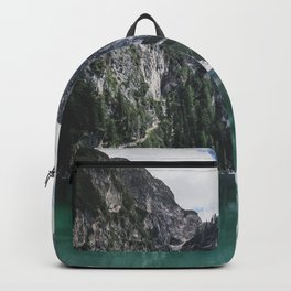 Mountain Lake Panorama // Landscape Photography Backpack