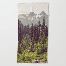 Faraway - Wilderness Nature Photography Beach Towel