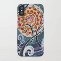 lotus iPhone & iPod Cases featuring Lotus by brenda erickson