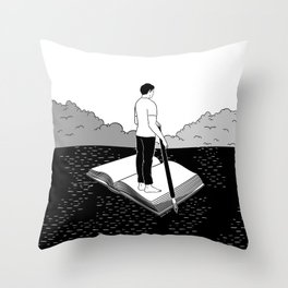 I'm not lost, I'm exploring Throw Pillow