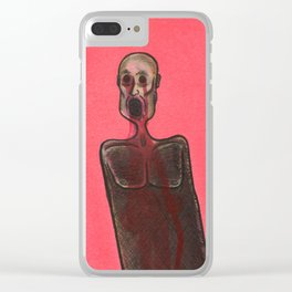 Blood Weeper Clear iPhone Case