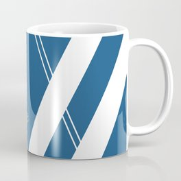 Blue V 2 #retro #society6 #abstract #artdeco #minimal #art #design #kirovair #buyart #decor #home Coffee Mug