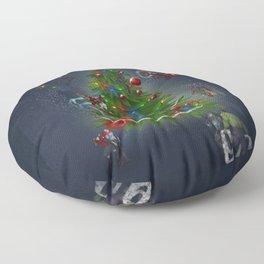 HAPPY HOLIDAYS Floor Pillow